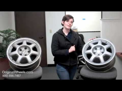 Outlander Rims & Outlander Wheels - Video of Mitsubishi Factory, Original, OEM, stock used rim