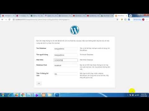 Cài đặt mã nguồn wordpress (phần 2)
