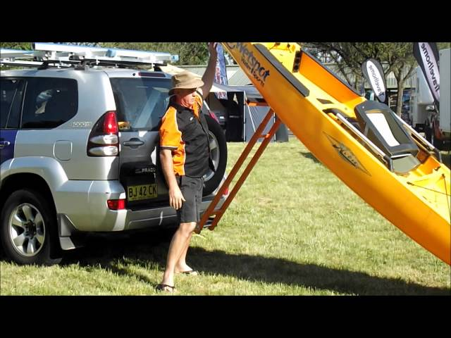 The BEST Kayak Loader on the market !! || Boathoist Loading Systems