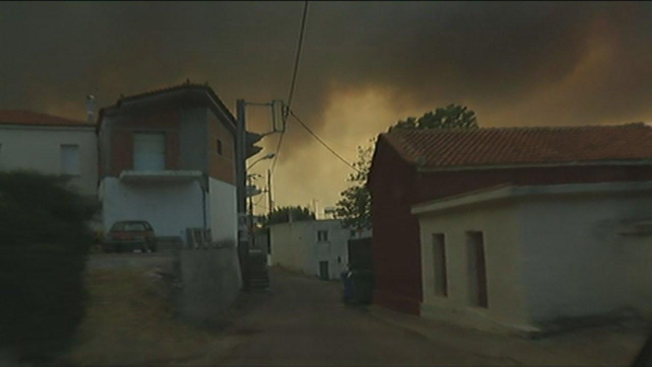 Εκκενώνεται το χωριό Πλατανιά στην Εύβοια