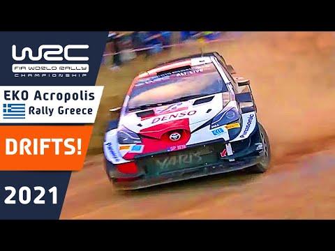 度迫力のドリフトシーンだけをまとめたダイジェスト動画 WRC 2021 ラリー・ギリシャ