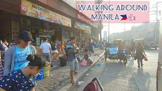Walking Around Manila Philippines 2020