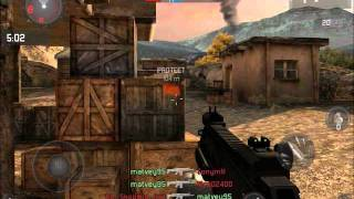 Modern Combat 3 Fallen Nation Multiplayer Gameplay - EPIC SLIDE