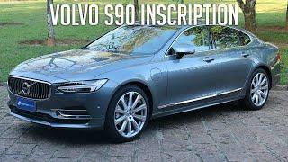 Avaliação: Volvo S90 Inscription