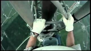 подъем на вышку [540 метров]