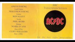 AC/DC - walk all over you (BBC Transcription Services)