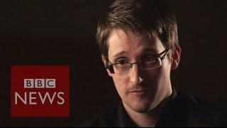 Edward Snowden: 'I know how to keep a secret' - BBC News