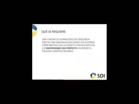 Webinar SDI. Los nuevos desafíos en la cadena de suministros
