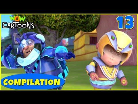Vir the robot boy   Action Cartoon Video   New Compilation - 13   Kids Cartoons   Wow Cartoons