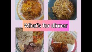 What's For Dinner Nov 24-30, 2019