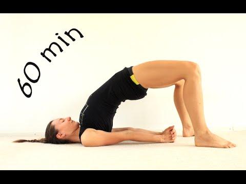 Виньяса йога для ягодиц и бедер | Укрепление ног | Йога chilelavida