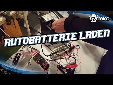 CTEK MXS 5.0 Test & Charge deutsch - AGM Autobatterie laden - 83metoo