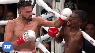 Jose Ramirez vs Maurice Hooker | ON THIS DAY | Ramirez becomes unified champion