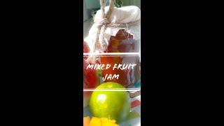Mixed Fruit Jam   Jam Recipe   Twin Cook_Book