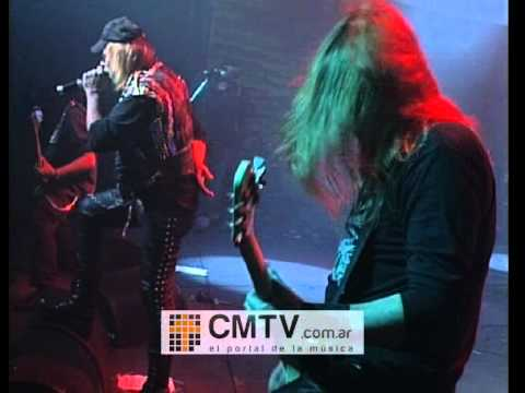 Tren Loco video Fuera de la ley - Metal Rock Festival 2008