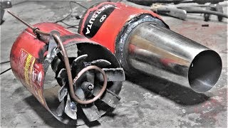 自家製ラムジェットエンジン★身近なものでジェットエンジン作ってみた。