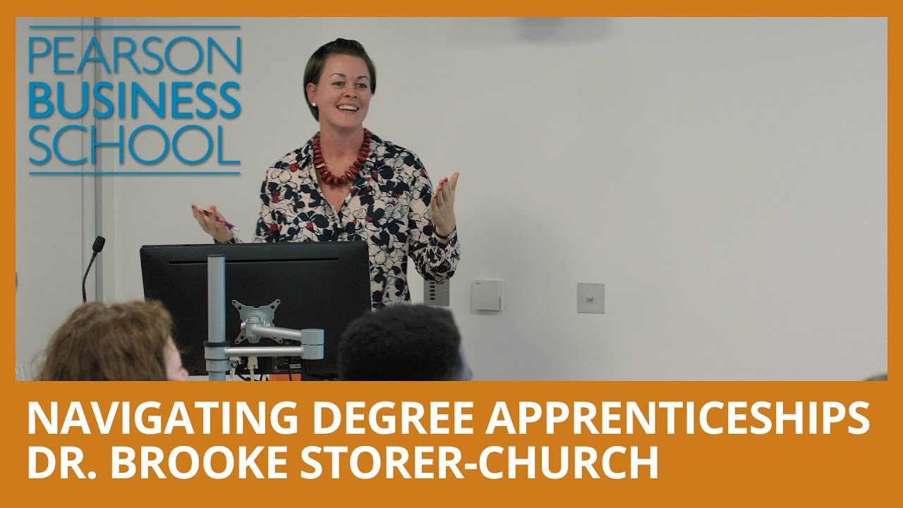 Navigating Degree Apprenticeships - Dr. Brooke Storer-Church