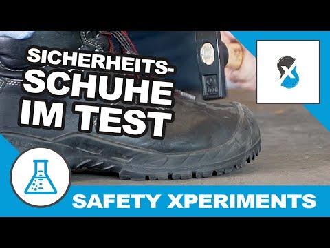 Sicherheitsschuhe im Test | Safety Xperiments
