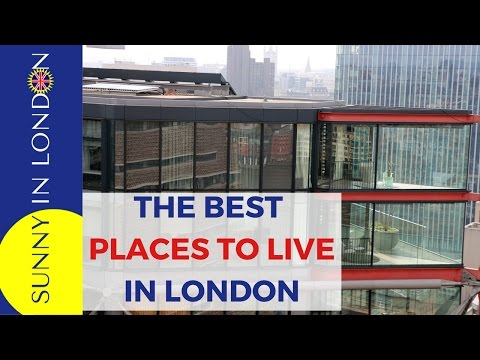 Video BEST PLACES TO LIVE IN LONDON- NEIGHBORHOODS