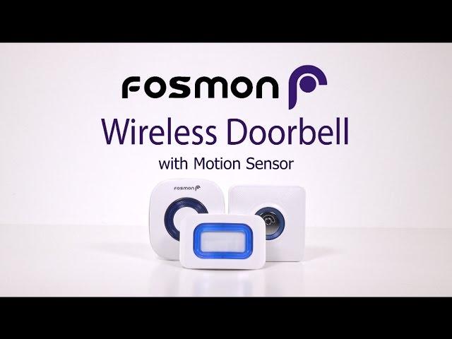WaveLink Wireless Motion Doorbell Alert Sensor - 52 Ringtones (1