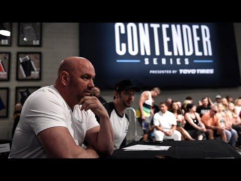 Dana White's Contender Series Returns August 4