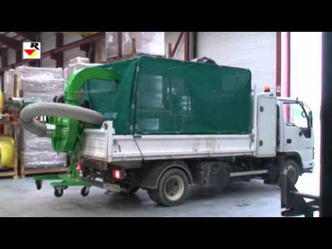 RABAUD : Kit habillage filet pour camion benne