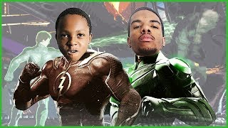 INTENSE SIBLING RIVALRY BATTLE! - Injustice 2 Gameplay