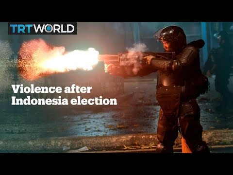 Six killed in Indonesia post-election protests