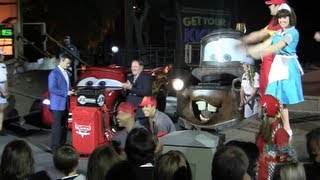 Cars Land Grand Opening Ceremony & Party Highlights At Disney California Adventure