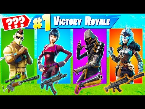 The *RANDOM* Skin Challenge In Fortnite Battle Royale!!