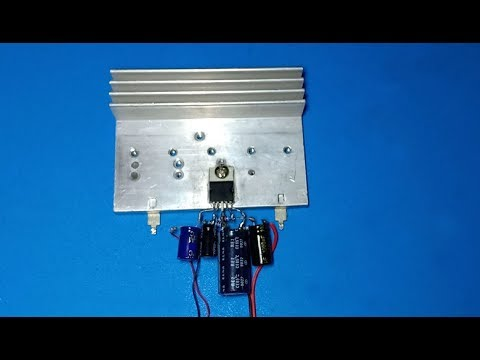 How to make 30W Amplifier using IC DTA2003 without PCB