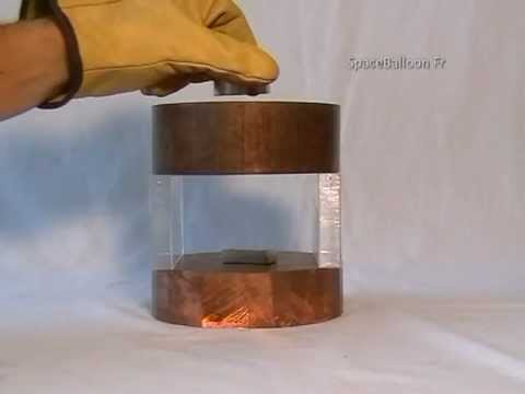 Aimant - Expériences aimants néodymes - Neodymium magnets experiments