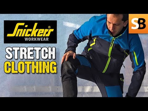 Snickers Comfort Stretch Workwear with Cordura