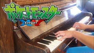 """Pokémon XY Ending 3 - """"DoriDori"""" (Piano W/ Lyrics)"""