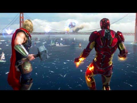 Avengers Game E3 Trailer