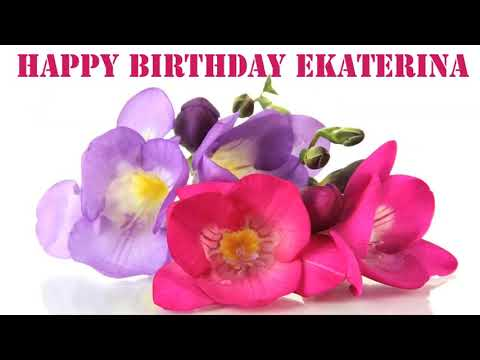 Ekaterina! Happy Birthday!