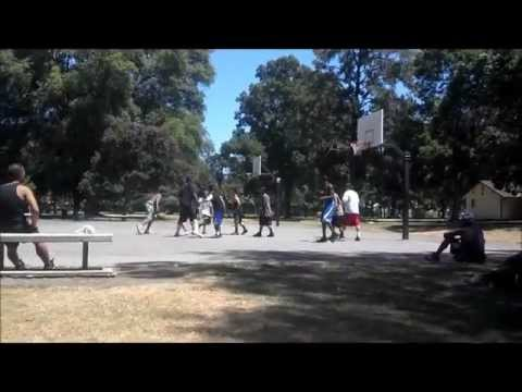 Come From Behind Basketball Game In The Park
