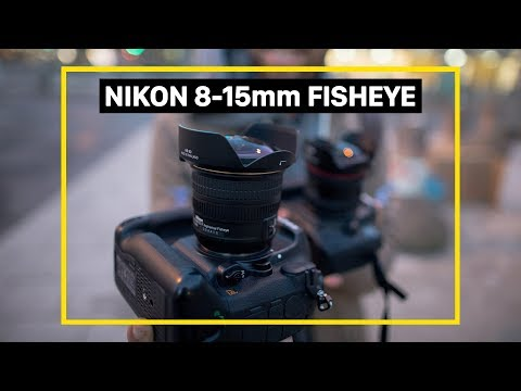 Nikon 8-15mm Fisheye lens | ENGLISH review on a mega-wide-angle lens