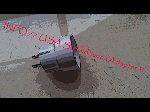 INFO // USA Steckdosen (Adapter ?!)