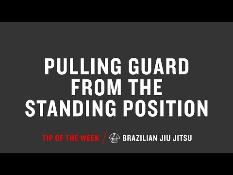 Pulling Guard From The Standing Position