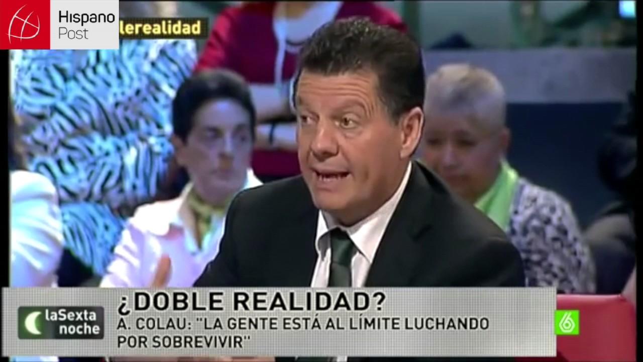 "Multan a periodista Alfonso Rojas con 20 mil euros por llamar ""chorizo"" a Pablo Iglesias"