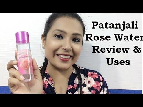 , title : 'Patanjali Rose Water Review & Surprizing  Uses | RJ Mahek'