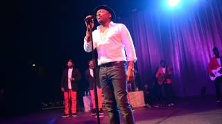 "Anthony Hamilton sings, ""Her Heart"" Albany, Ga"