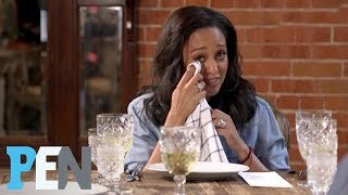 Tia Mowry-Hardrict Gets Emotional, Gives Good Friend Brittany Daniel Marriage Advice   PEN   People