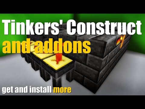 How to get Tinkers Construct With Addons - download and install Tinkers Construct Mod and its Addons