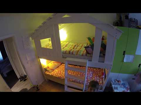 """Aufbau - Montage vom Hochbett - Etagenbett - Kinderbett """"ALPIN CHALET"""" von BIBEX"""