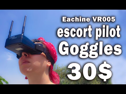Eachine VR005 for your ESCORT PILOT