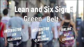 Lean Six Sigma Green Belt - Certification Planner LLC