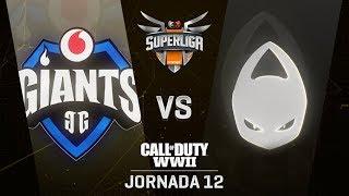 VODAFONE GIANTS VS X6TENCE | Superliga Orange COD | (Jornada 12)
