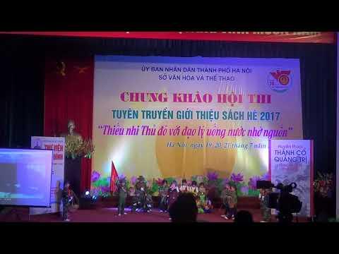 Trường Tiểu học Hà Nội tham gia thi Giới Thiệu sách đạt giải Nhất Thành phố năm học 2017 - 2018